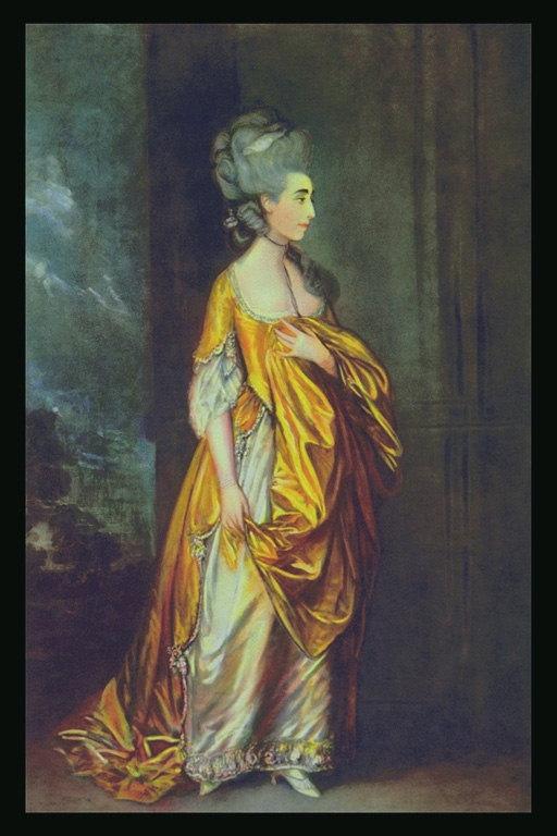 Фото платья золотистого цвета